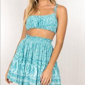 Gemini Top & Skirt set